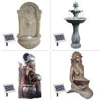 Brunnen mit Solar-Betrieb