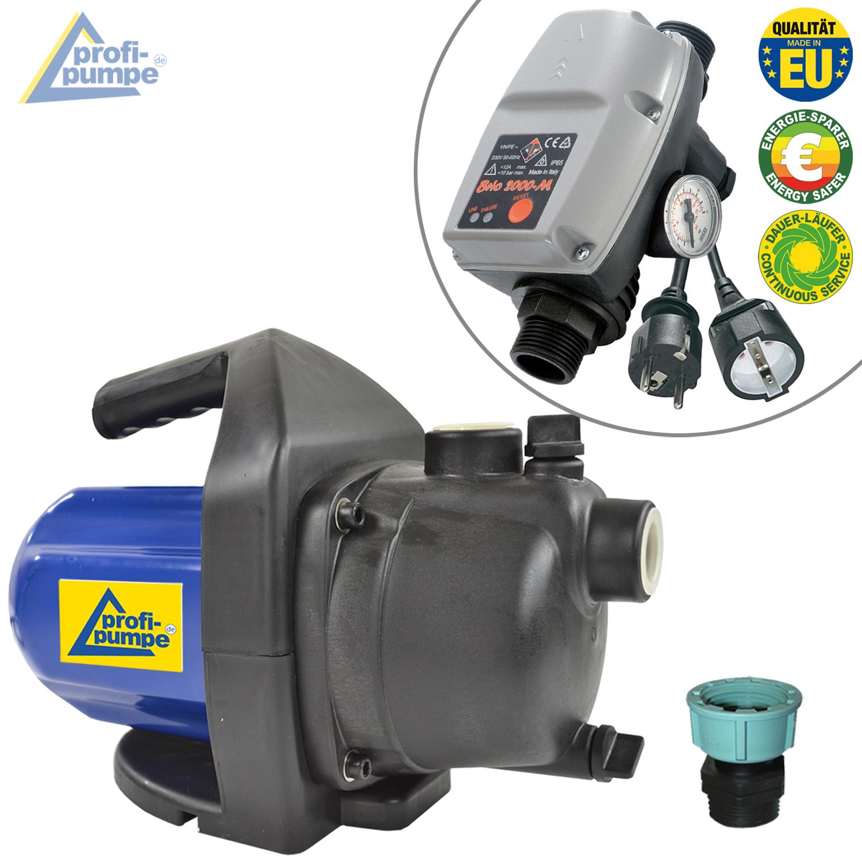 Pumpe Hauswasserwerk INNO-TEC 1200-1 mit Durchflusswächter BRIO ...