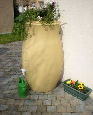 B-Ware Amphore Maja 300l beige  inkl. Füllstandsschlauch