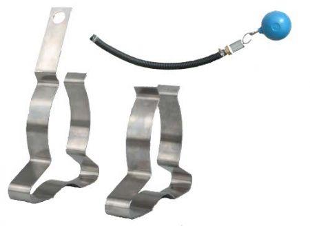 Tauchpumpen-Ausrüstungsset (Pumpenfüße und Ansaug-Set 5)