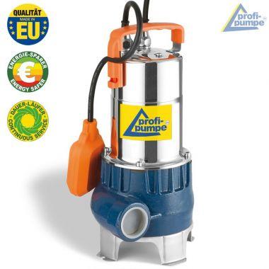 Tauchdruckpumpen DRAIN-VORTEX-600-ZXm STAINLESS STEEL STANDARD FLOAT VERY DIRTY WATER
