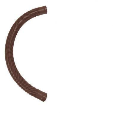 PE-Well-Schlauch, (5/4 Zoll) ca. 275cm lang, braun