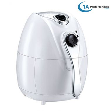 Heißluft-Multifritteuse ECO AIR-PROFI 1350W, weiß