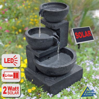 oeko solar brunnen springbrunnen. Black Bedroom Furniture Sets. Home Design Ideas