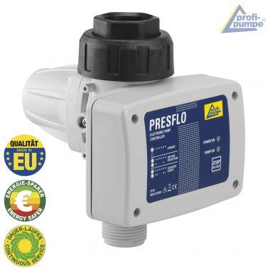 Durchflusswächter PRESFLO-2® - 1,5bar Einschaltdruck- Automatic-Controller unverkabelt mit intelligenten Selbst-Überwachungsfunktionen