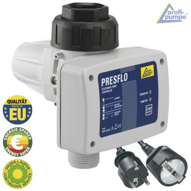 Durchflusswächter PRESFLO-2® - 1,5bar Einschaltdruck- Automatic-Controller verkabelt mit Selbst-Überwachungsfunktionen