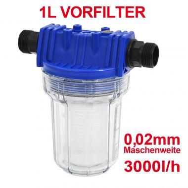 Vorfilter 1000-1 1L (neue version)