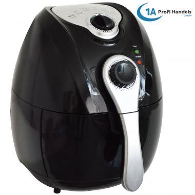 Heißluft-Multifritteuse ECO AIR-PROFI 1350W, schwarz