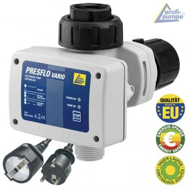 Durchflusswächter PRESFLO-2-VARIO® - Automatic-Controller verkabelt mit intelligenten Selbst-Überwachungsfunktionen
