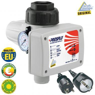 Durchflusswächter PRESFLO-2® - 1,5bar Einschaltdruck - Automatic-Controller verkabelt mit intelligenten Selbst-Überwachungsfunktionen