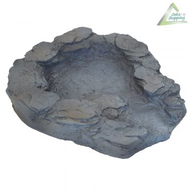 Bachlauf QUELLBACH II dunkel-grau - Oberste Schale mit Pumpenanschluß
