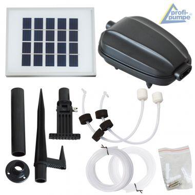 Teichbelüfter-Set Solar  OXYGEN-3.1