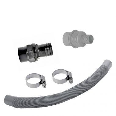Anschluss-Set DN50 für Fallrohrfilter T50 grau