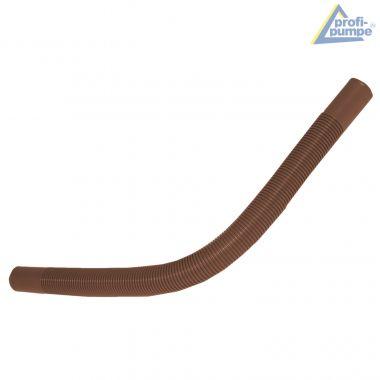 PE-Well-Schlauch, (5/4 Zoll) ca. 55cm lang, braun