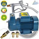 EU Diesel DeLuxe CKm 370 selbstansaugende Pumpe mit Saug- und Druckschlauch, Pistole und Zubehör