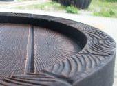 Eichenfässer- Sitzgarnitur 5-teilig