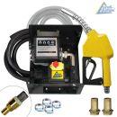 B-Ware Diesel EXELENZ-3 Pumpe mit Zähler, hochwertiger Saug- und Druckschlauch-Garnitur, Automatik-Zapfpistole und Zubehör