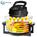 B-Ware Heißluft-Fritteuse & 10in1-Multikocher ECO AIR-PROFI 1350W H-DC, schwarz
