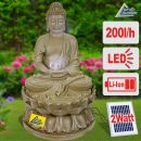 BUDDHA-ETERNITY mit LiIon-Akku & LED-Licht