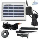 Technik Set-1.1 für Solar Deko mit Li-Ion Akkus / LED Licht
