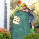 Regentonne Felsbrocken natur-grün - das ORIGINAL mit 300Liter!