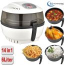 B-Ware Heißluft-Multifritteuse ECO AIR-PROFI SOUP DC-1400W, weiß