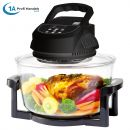 Heißluft-Multifritteuse & 10in1-Multikocher ECO AIR-PROFI 1350W H-DC, schwarz