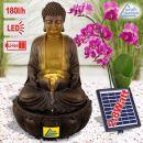 Solar - Gartenbrunnen & Wasserspiel ZHEN KRAFT-QUELLE mit Li-Ion-Akku